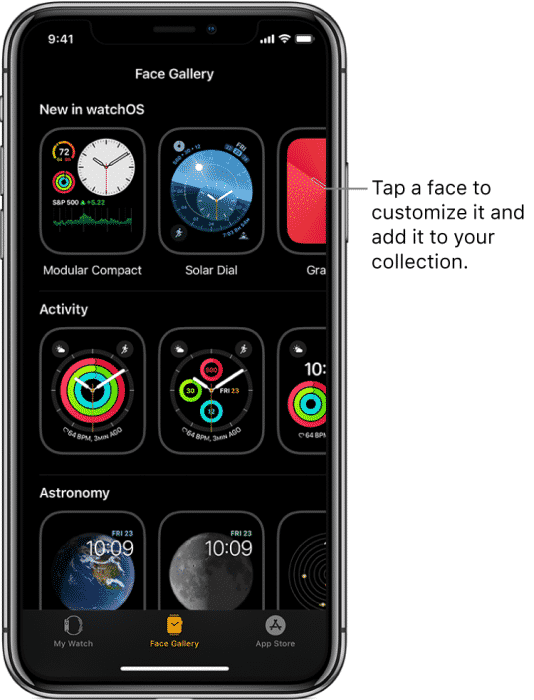 watchOS 7 with iPhone