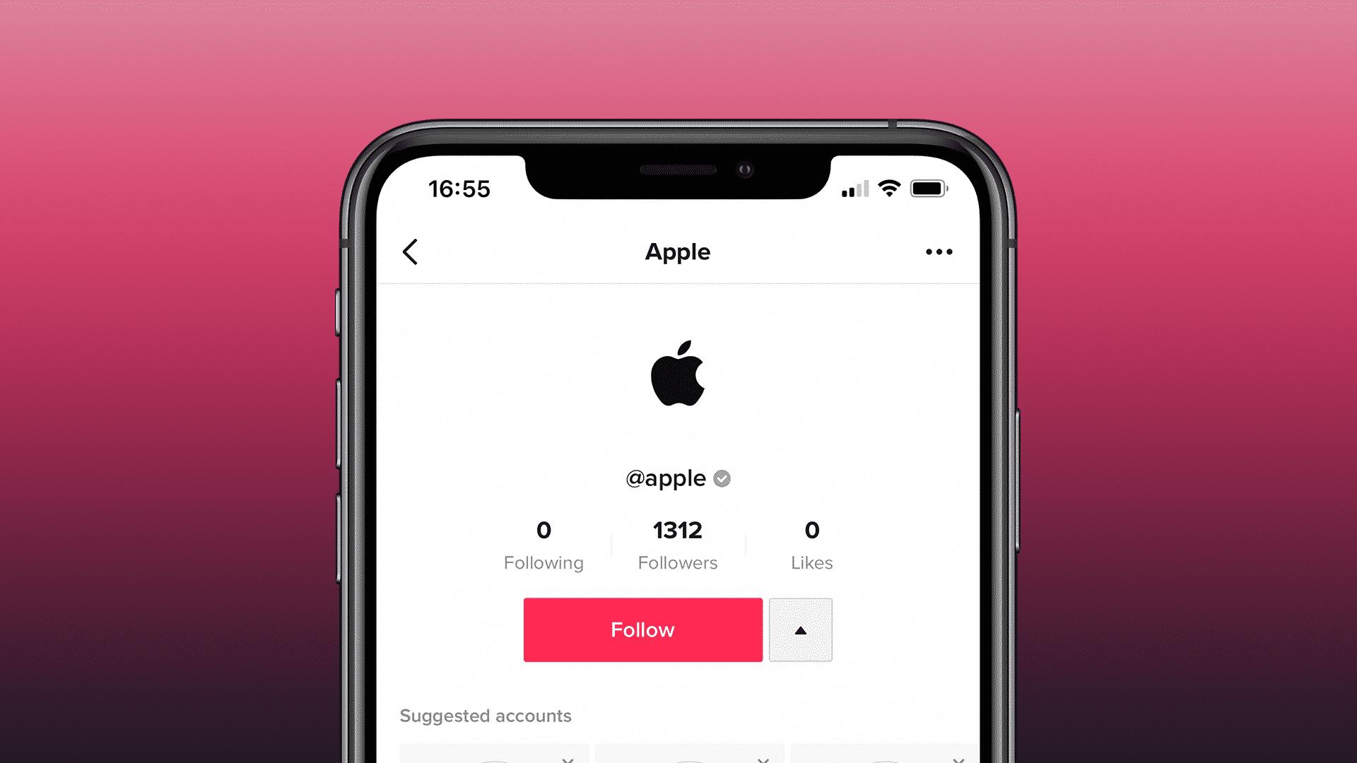Apple now has a TikTok page