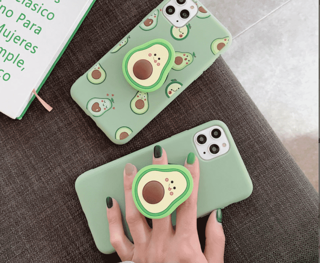 Avocado Soft Case for iPhone SE 2020