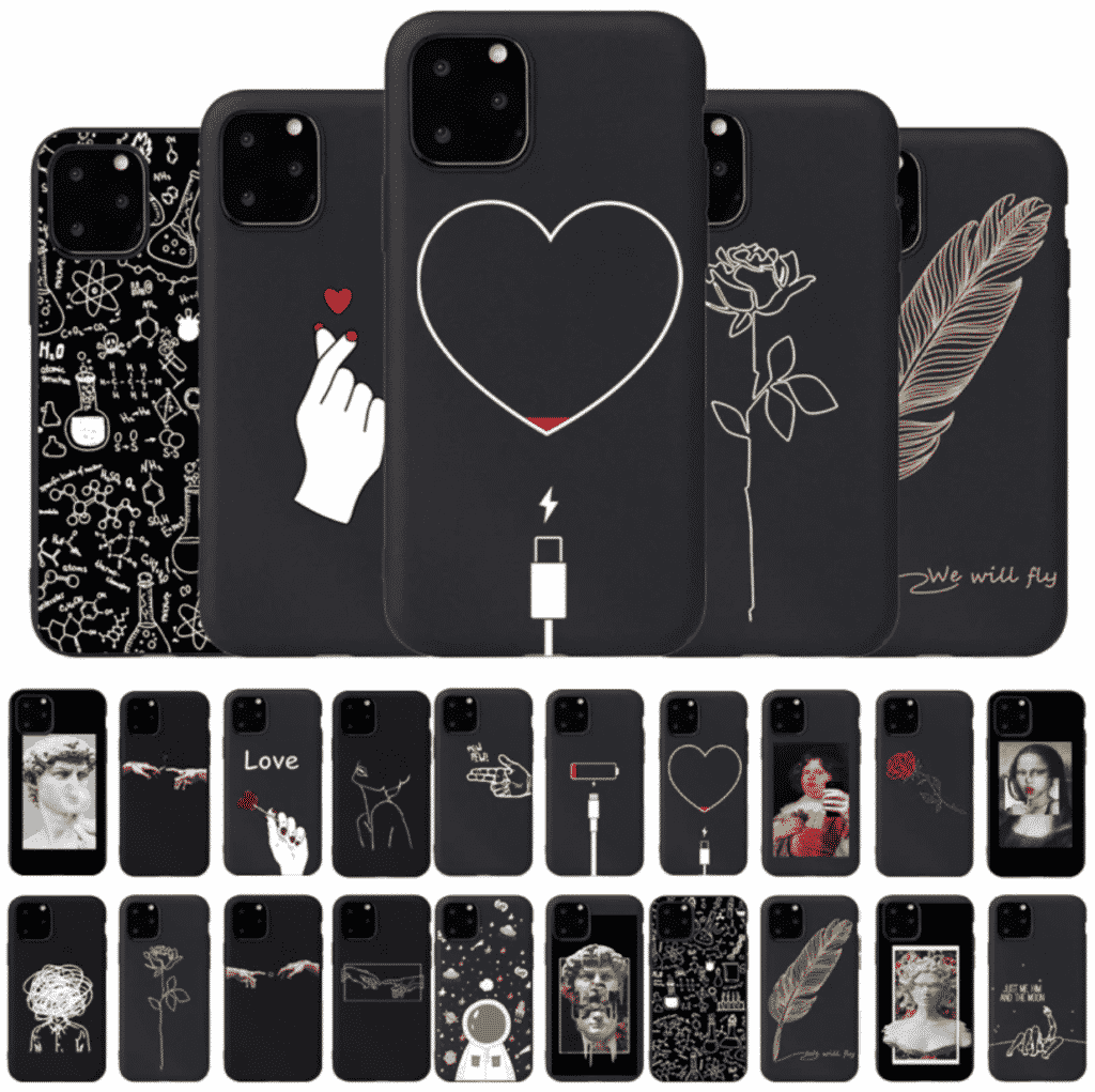 Black Lover Case for iPhone SE 2020