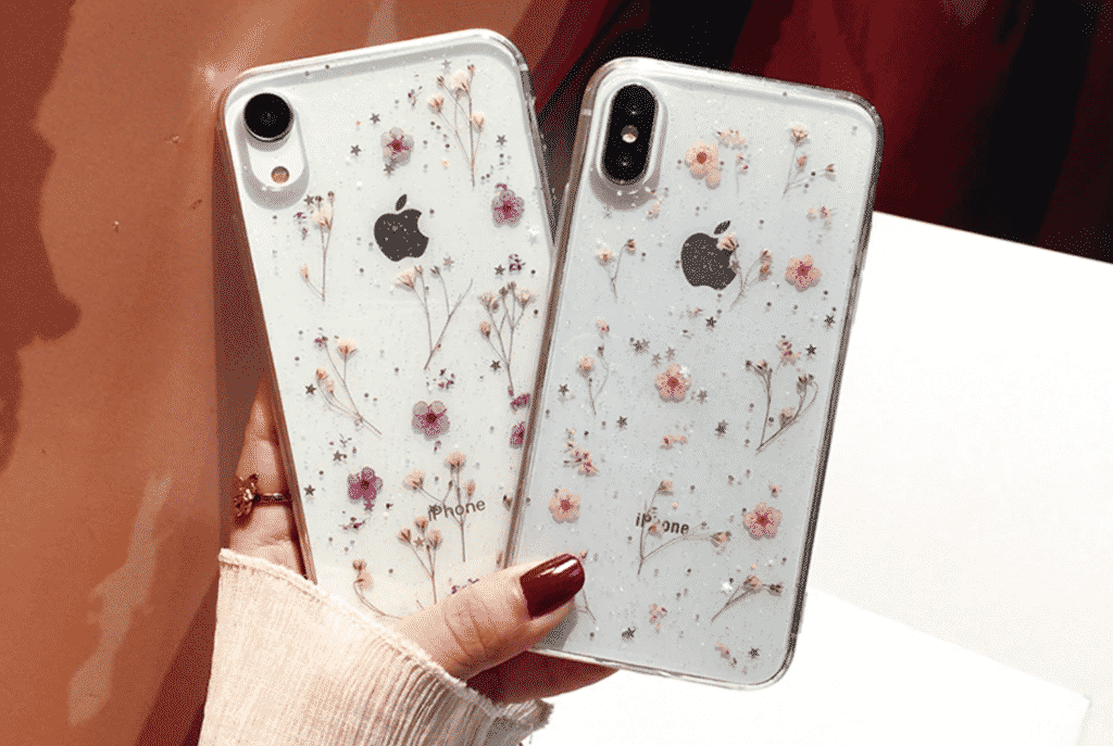 Flowers Soft Case for 2nd generation iPhone SE