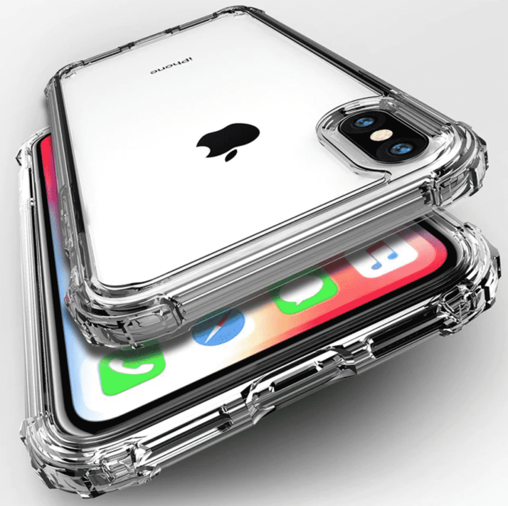 Transparent Shockproof Case for iPhone SE 2020