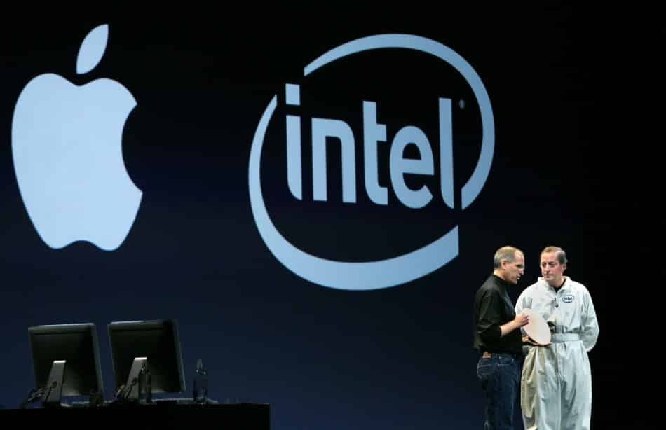 Apple aims to move away from Intel