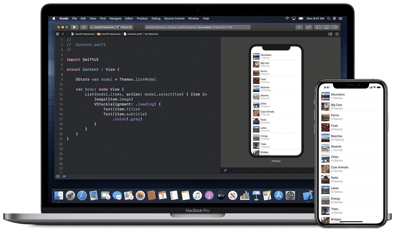 Xcode to work on iPad with iPadOS 14