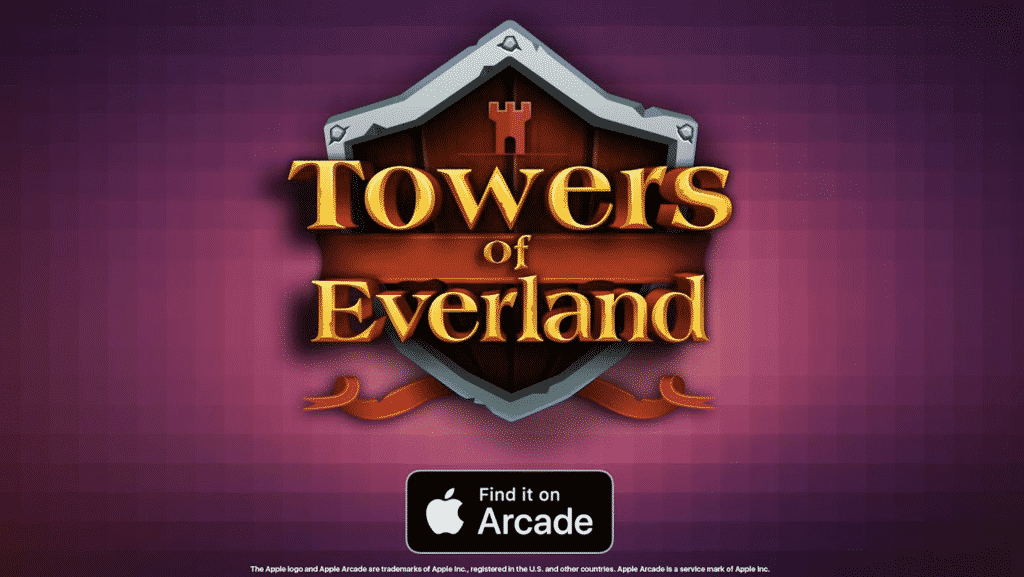 Towers of Everland the famous RPG now available on Apple Arcade