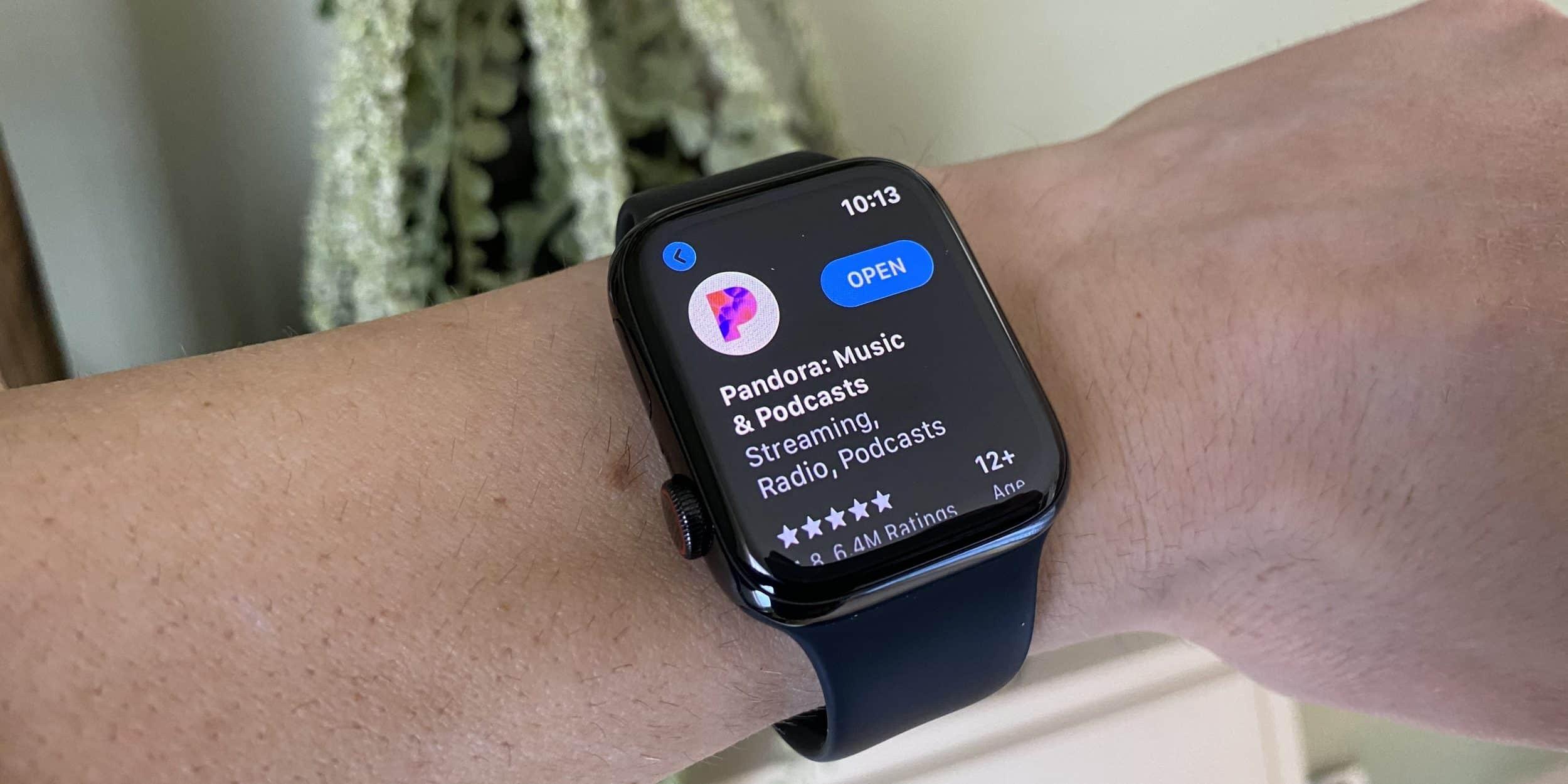 "Apple Watch App ""Pandora"""