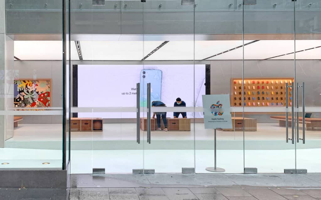 Apple store in Sydney will reopen on May 28