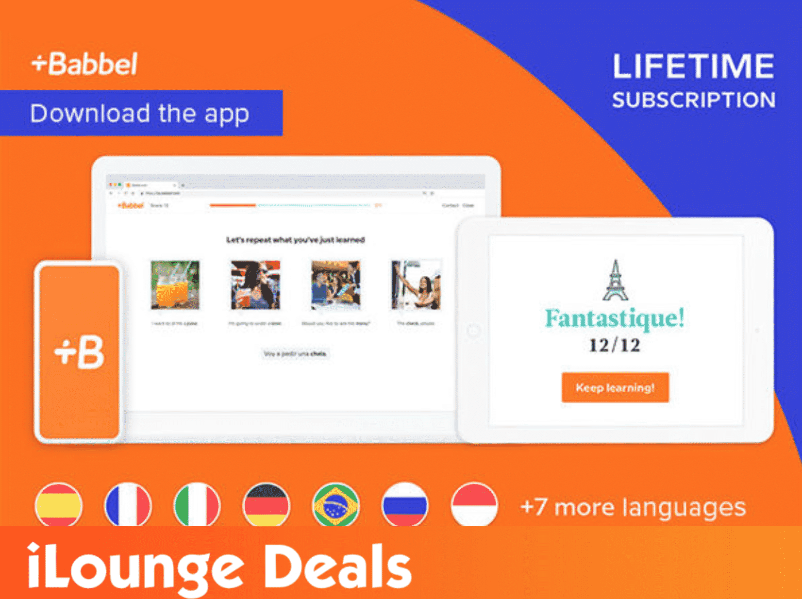 Babbel Language Learning Lifetime Subscription (All Languages)