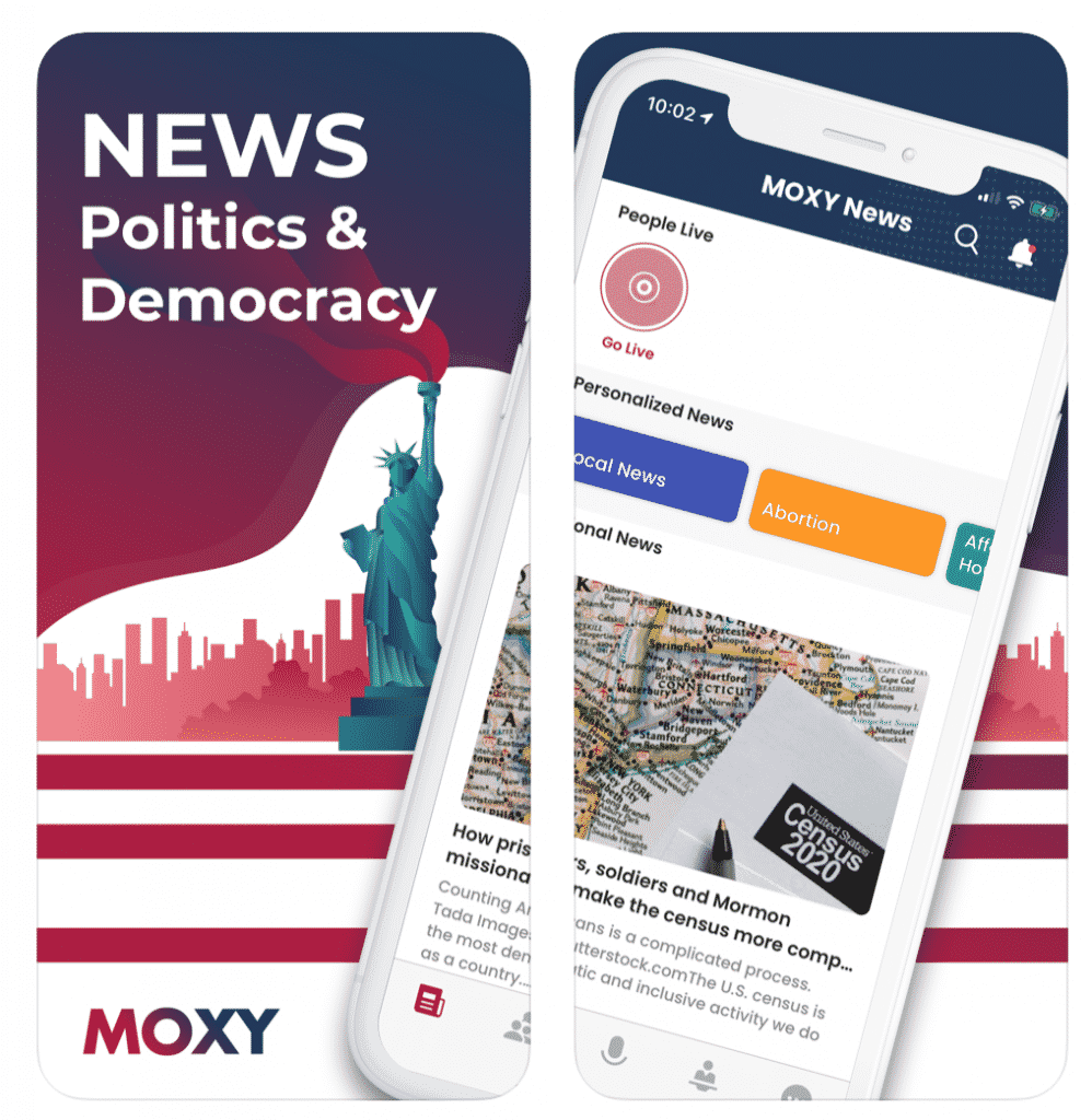 news on the MOXY app
