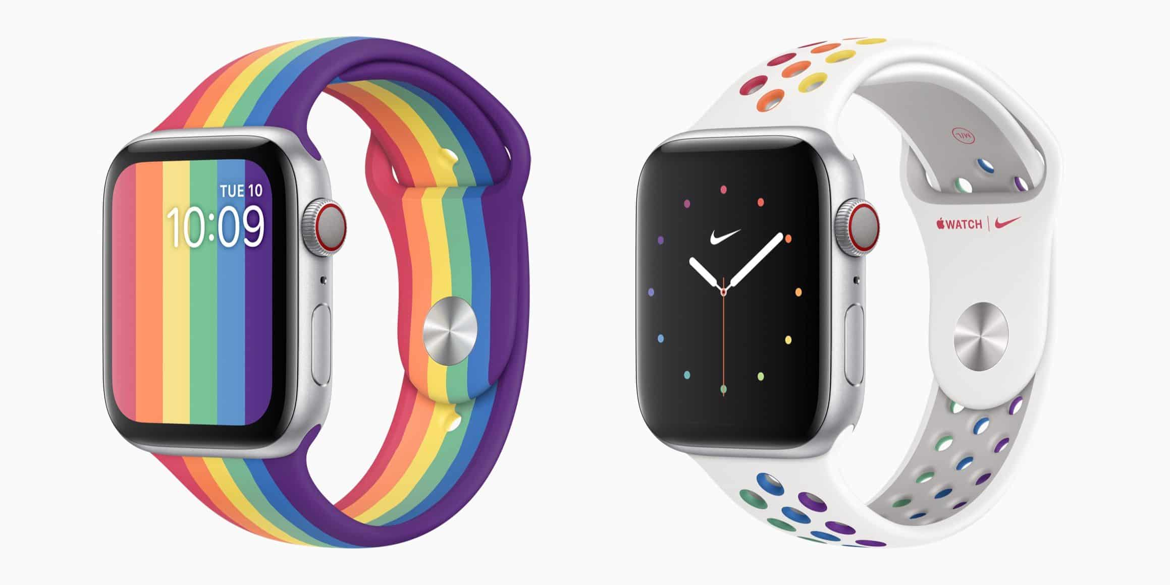 Pride Sports Bands for Apple Watch