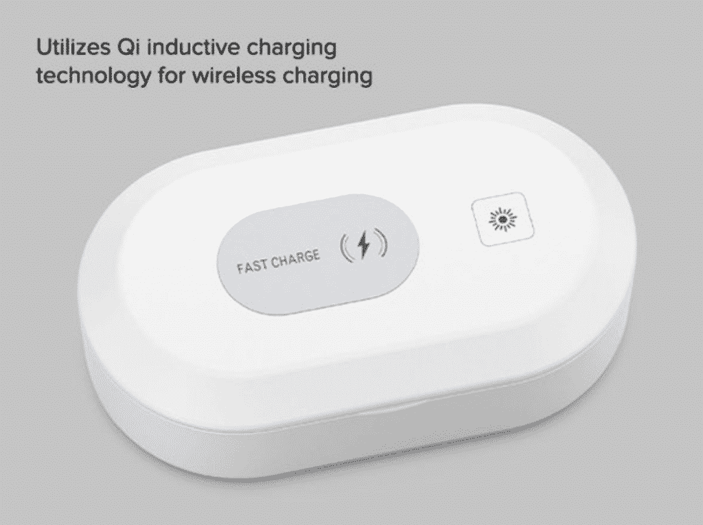 3-in-1 UV sterilizer wireless charger