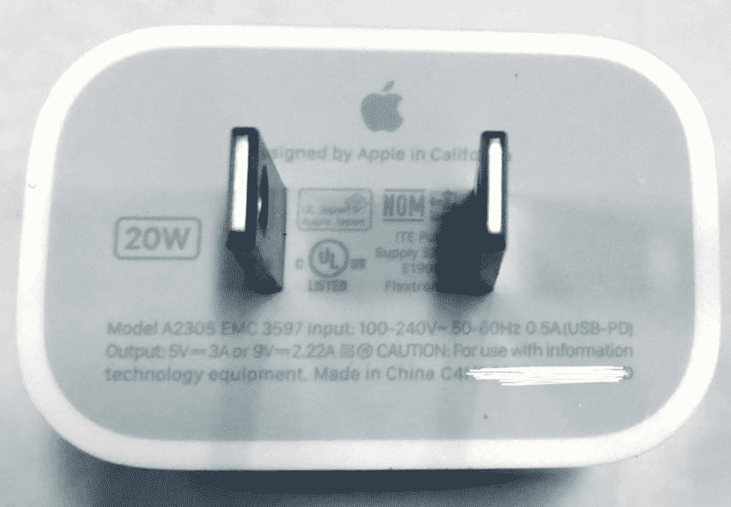 Apple to separately sell 20W Power Adapter for iPhone 12