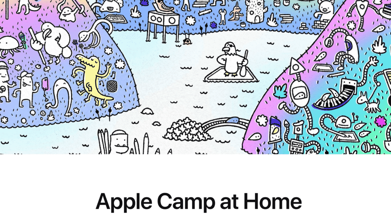Apple Camp at Home