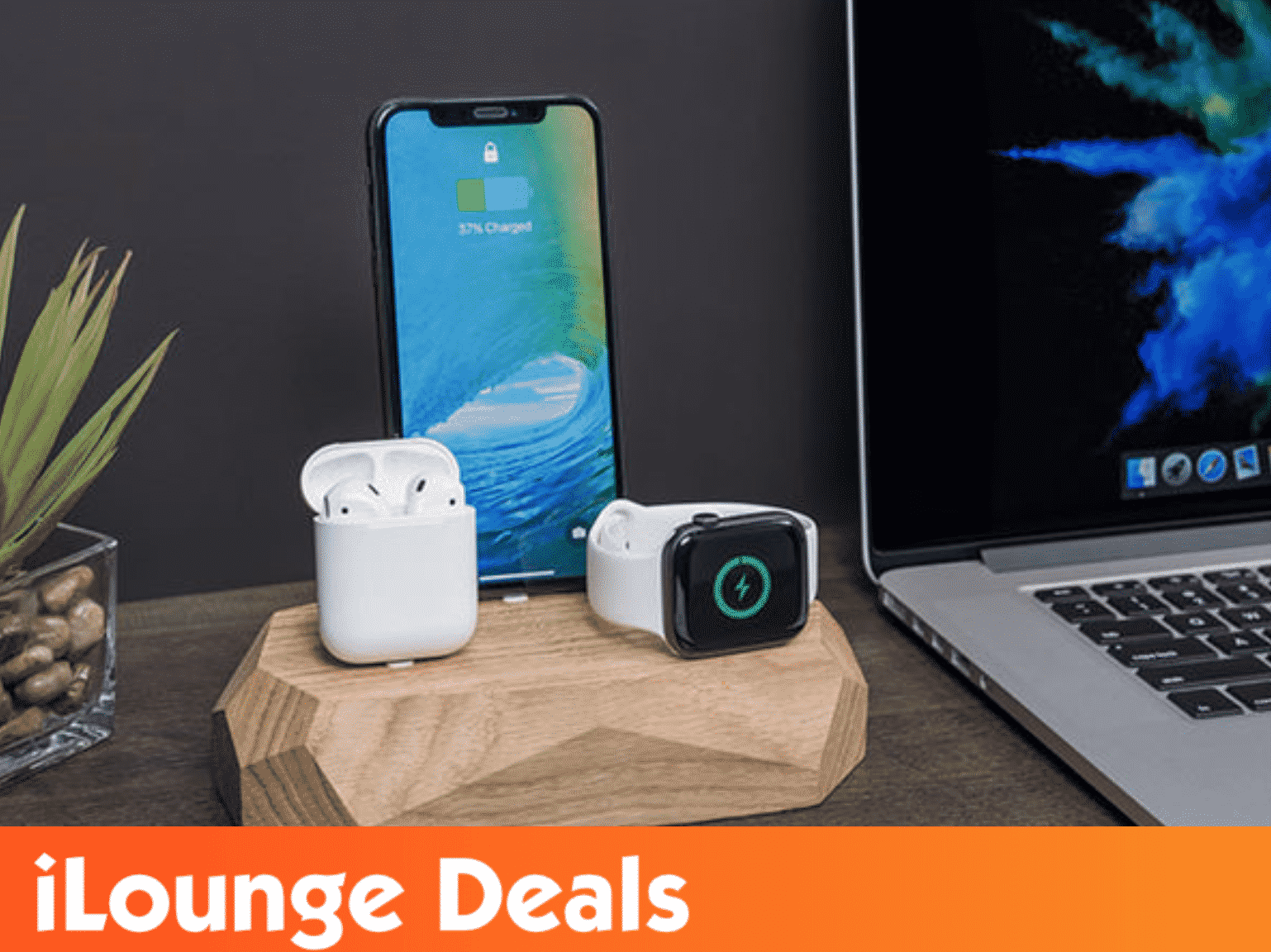 Triple Dock 3-in-1 Apple Device Charging Station