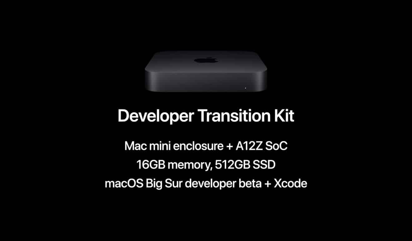 Apple Developer Transition Kit rental costs $500