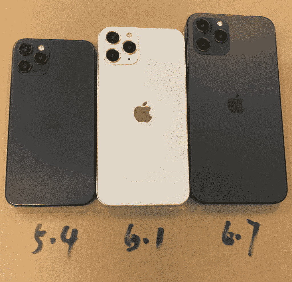 iPhone 12 sizes