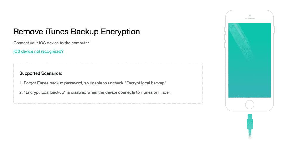 Remove iTunes Backup
