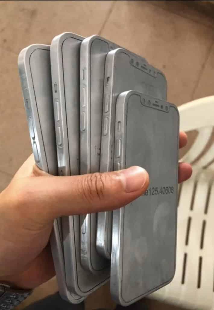 iPhone 12 design leak