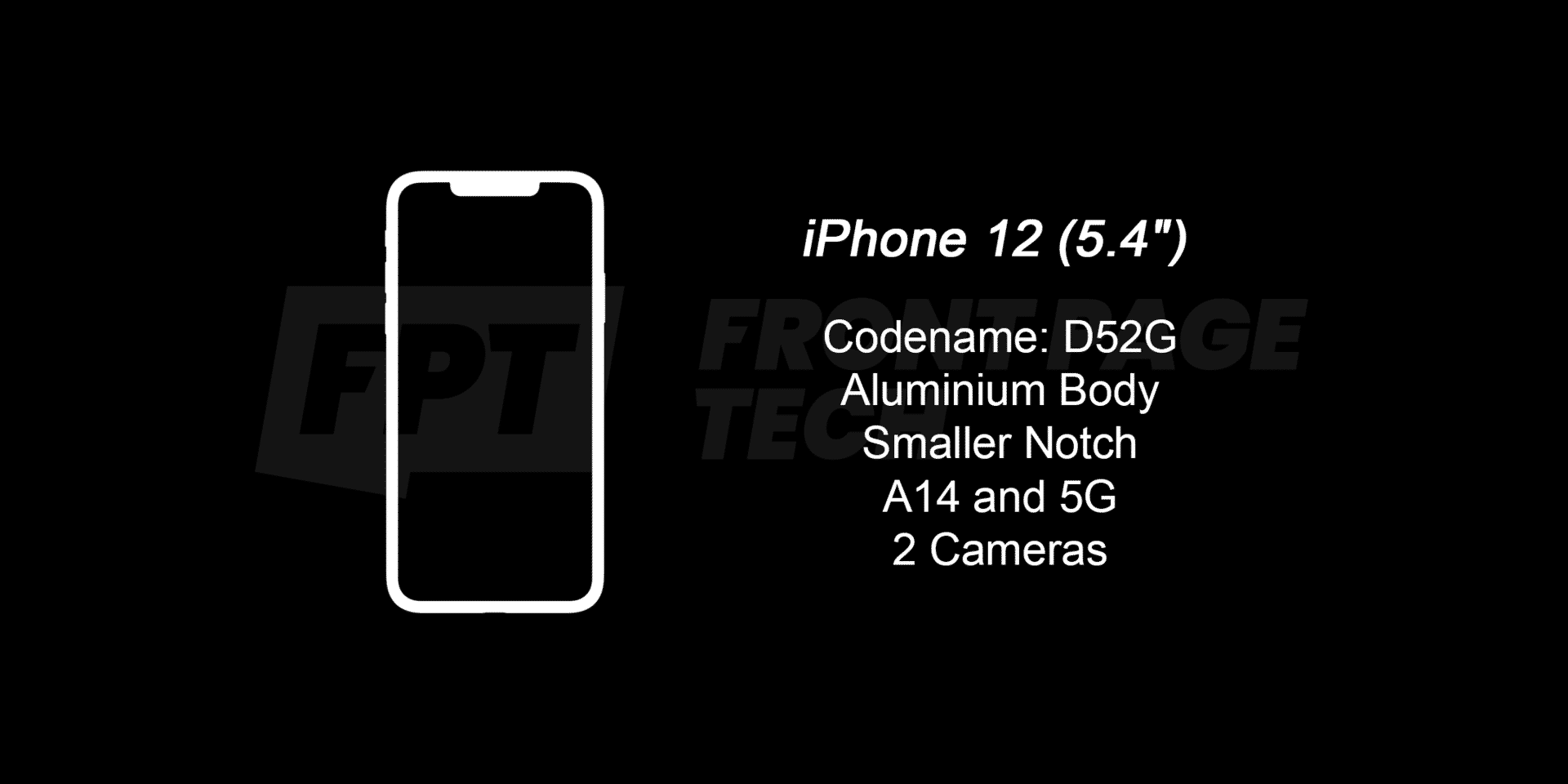 iPhone 12 5.4″ to cost $549, rumor suggests