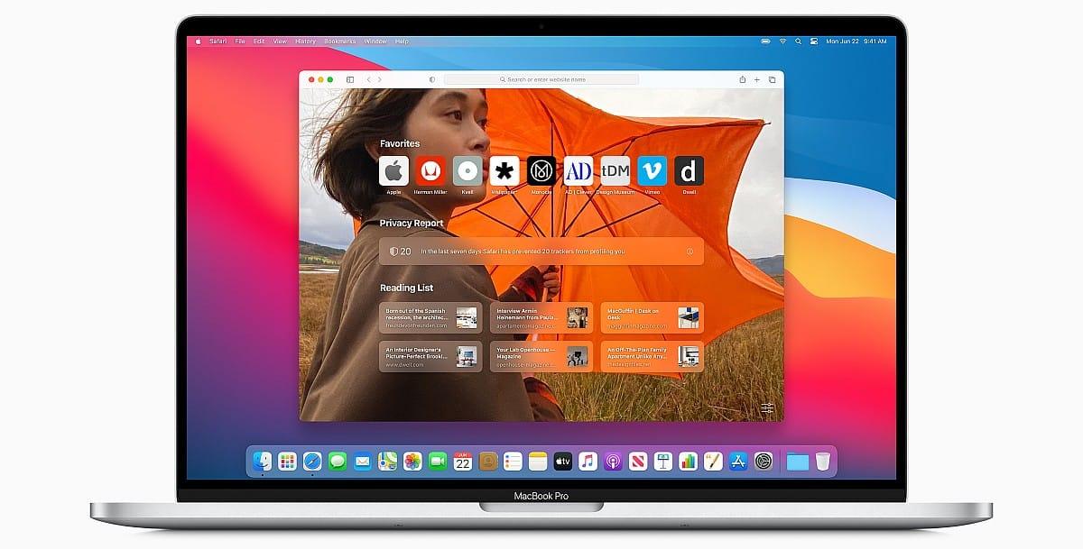 Safari redesigned in macOS Big Sur