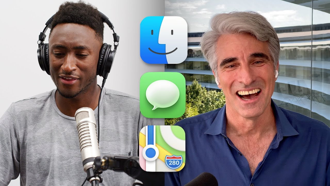 MKBHD and Craig Federighi discuss WWDC , iOS 14, macOS Big Sur