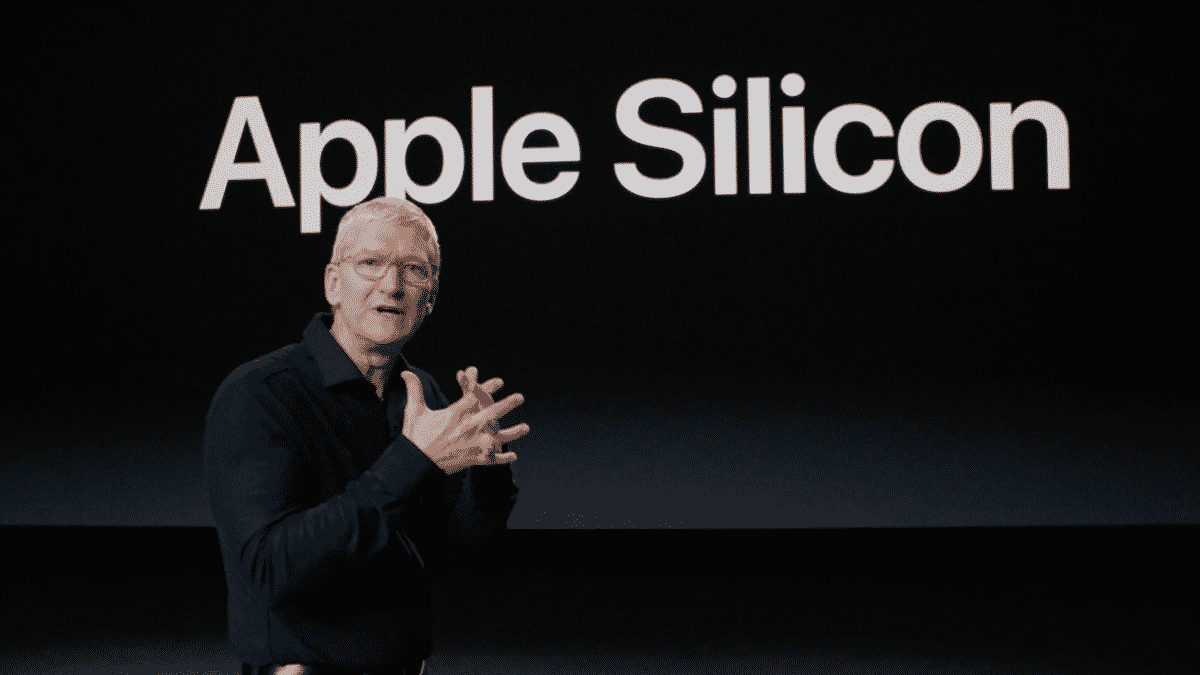 Tim Cook says he's excited about Apple Silicon