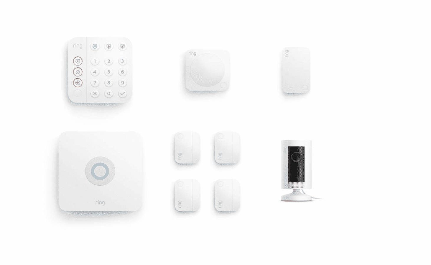 All-new Ring Alarm 8-piece kit (2nd Gen) with Ring Indoor Cam