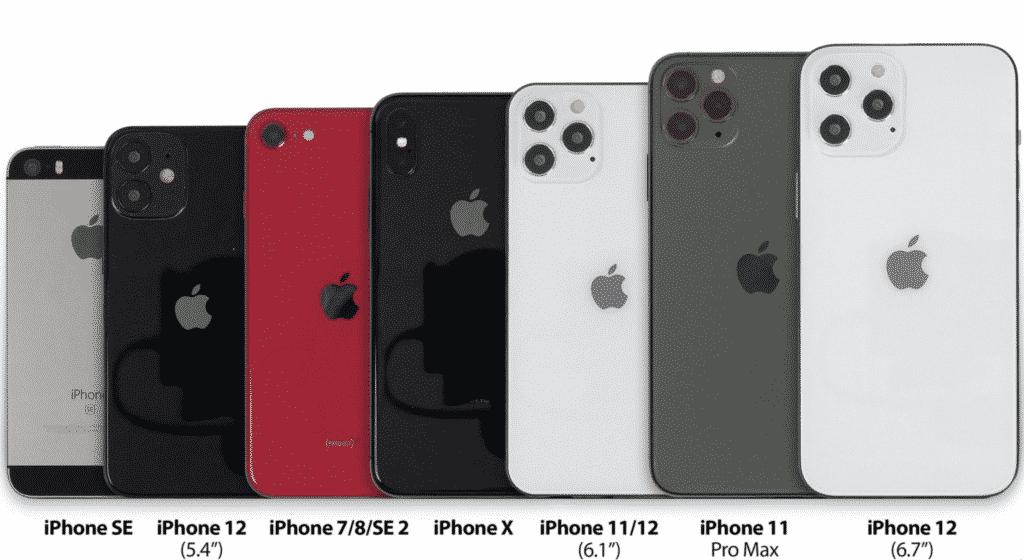 Apple iPhone 12 models
