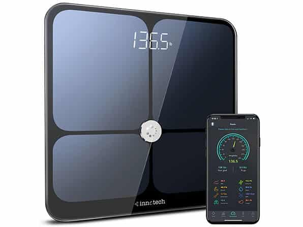 Get 39% Off on the Innotech Bluetooth 4.0 Smart Scale, BMI Analyzer & Health Monitor
