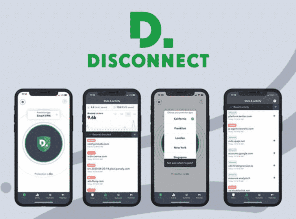 Disconnect iOS Premium VPN with iPhone devices