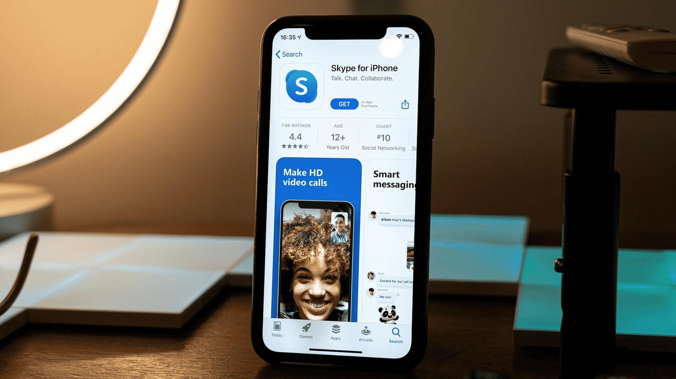 Skype iOS App