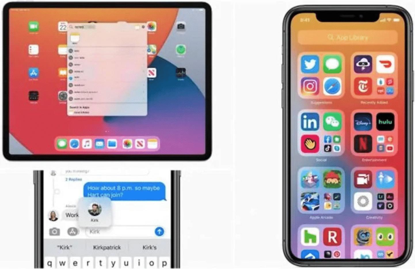 iOS and iPadOS 14