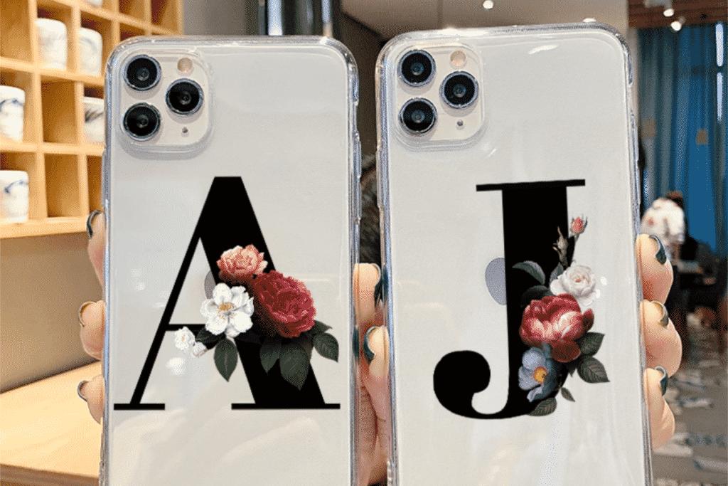 Alphabet Letter Case for iPhone 12