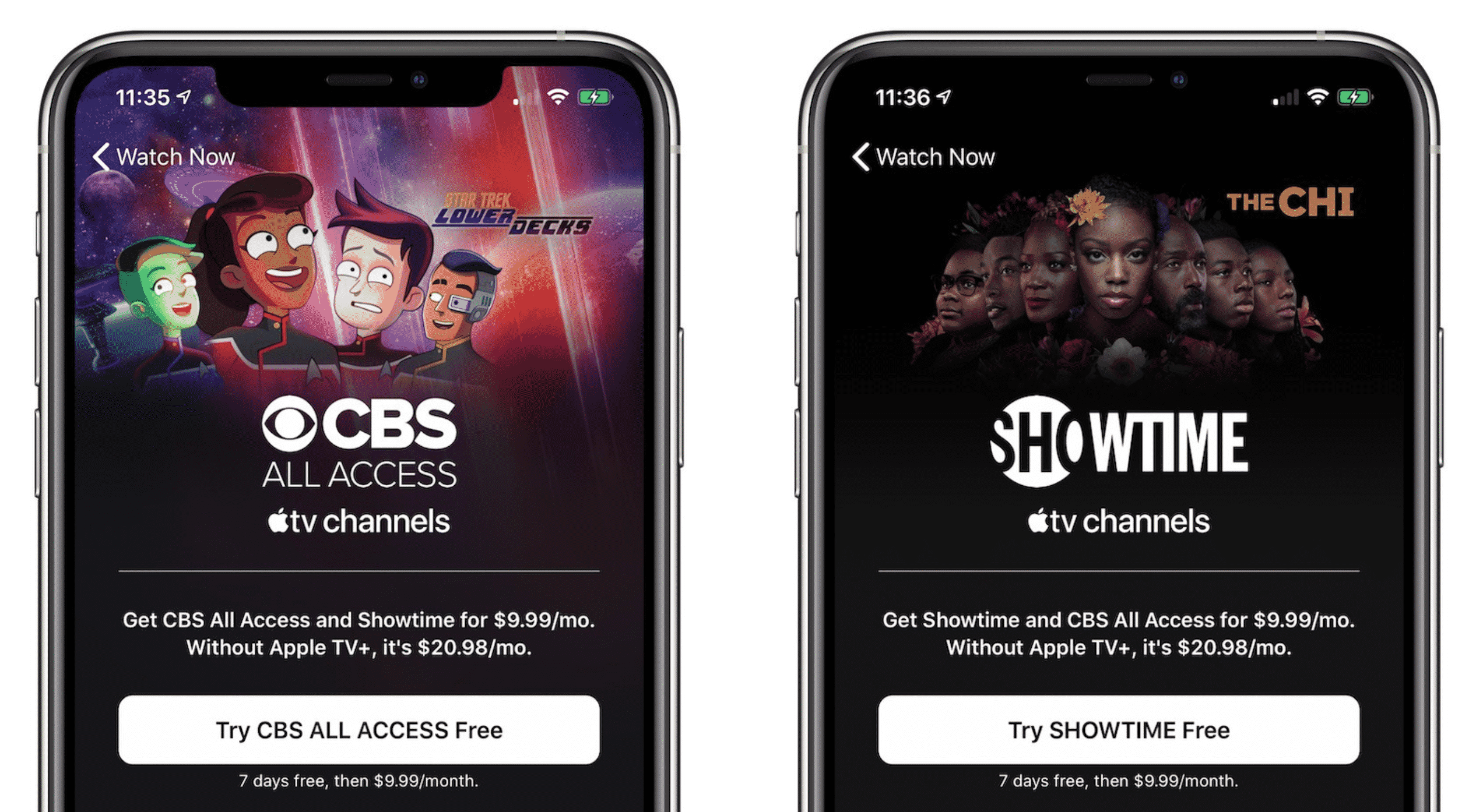 Apple TV+ subscribers can get Showtime and CBS bundle at 50% off