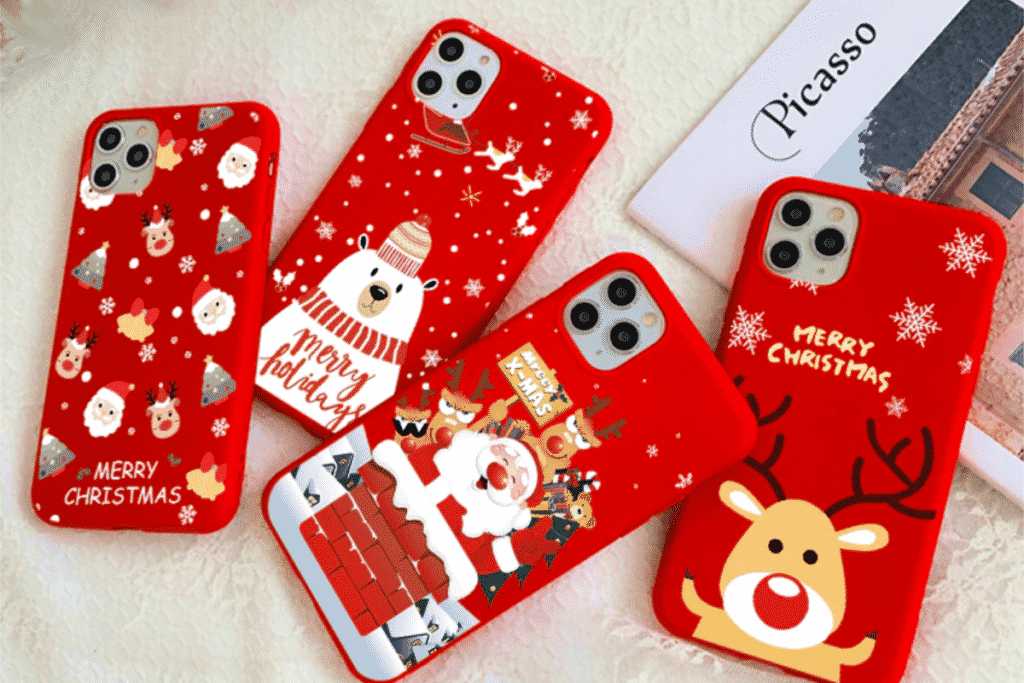 Christmas Cartoon Case for iPhone 12