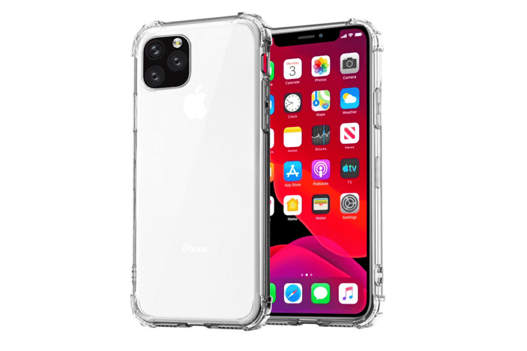 Clear Bumper Case for iPhone 12 and iPhone 12 Pro Max