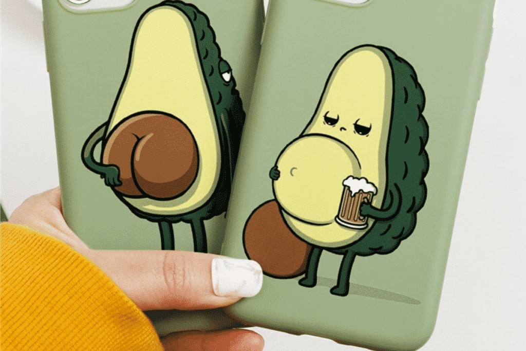 Cute Avocado Case for iPhone 12 Pro Max