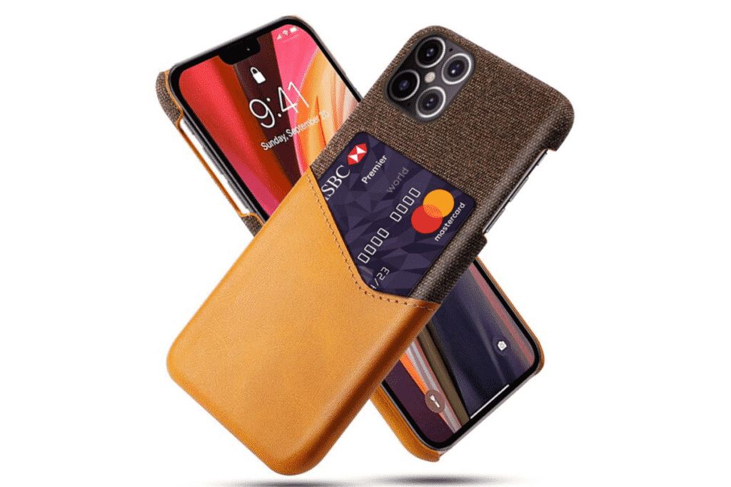 Leather Card Holder Case​ for iPhone 12 and iPhone 12 Pro Max