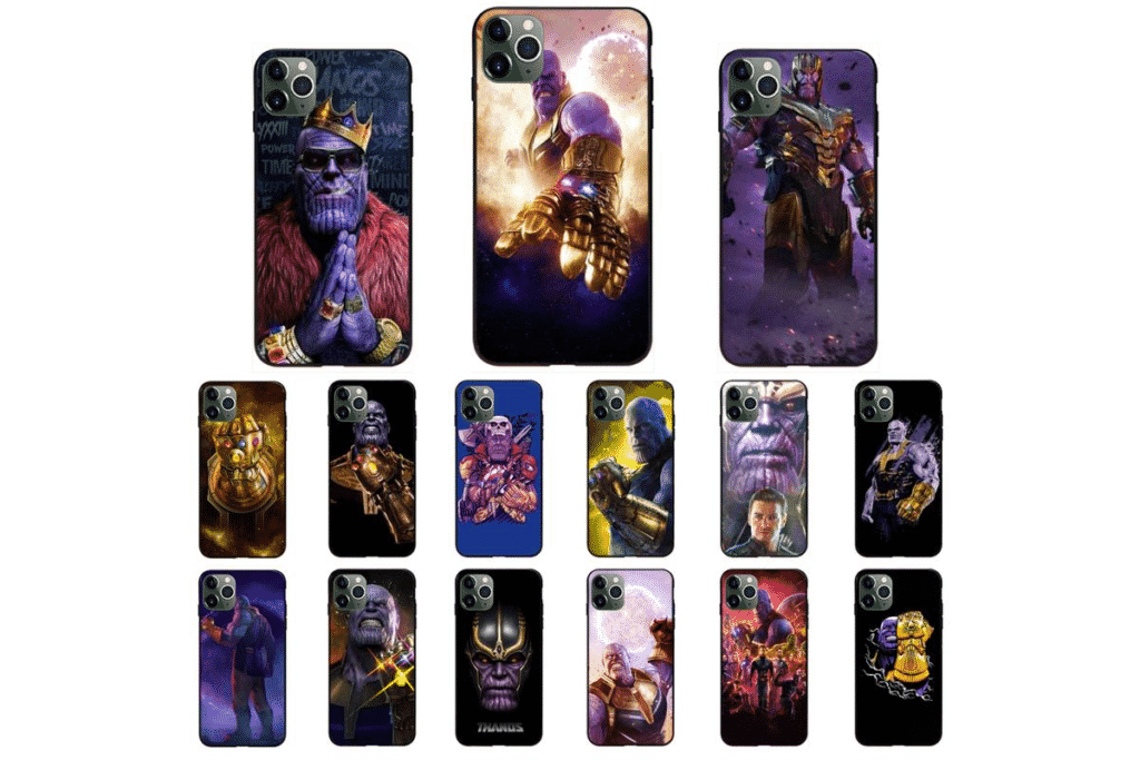 Marvel Thanos Infinity Case for iPhone 12 and iPhone 12 Pro Max