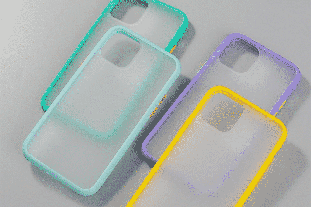 Matte Acrylic Frame Case for iPhone 12