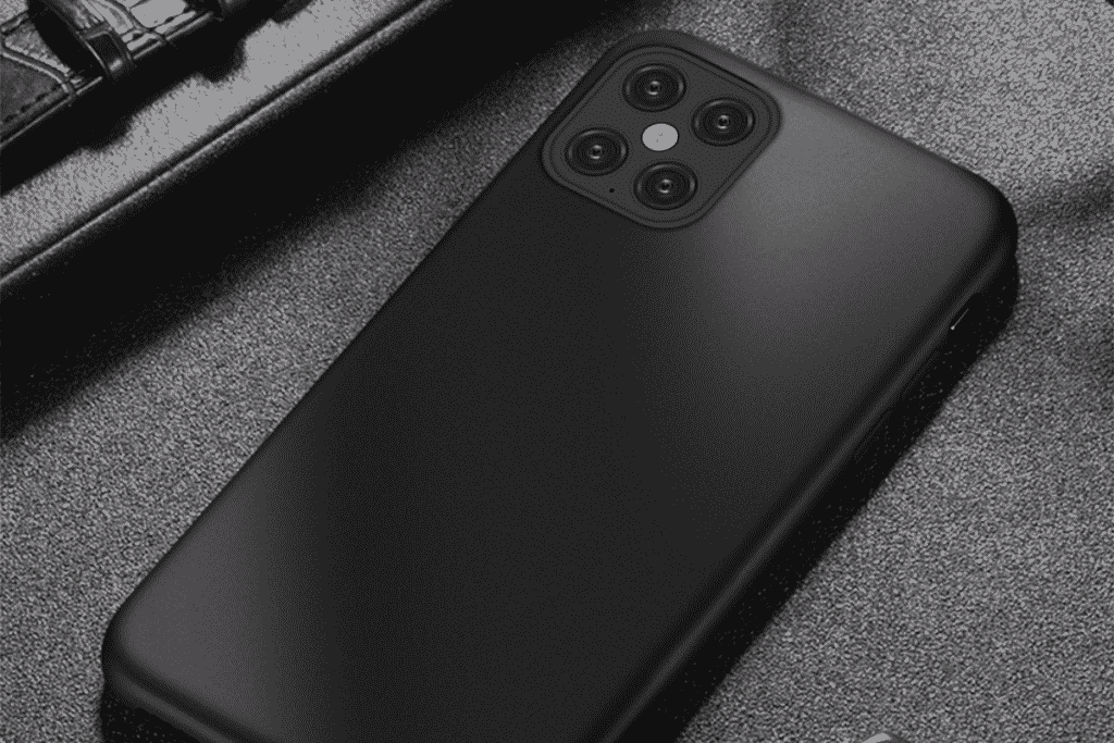 Pure Black Case for iPhone 12