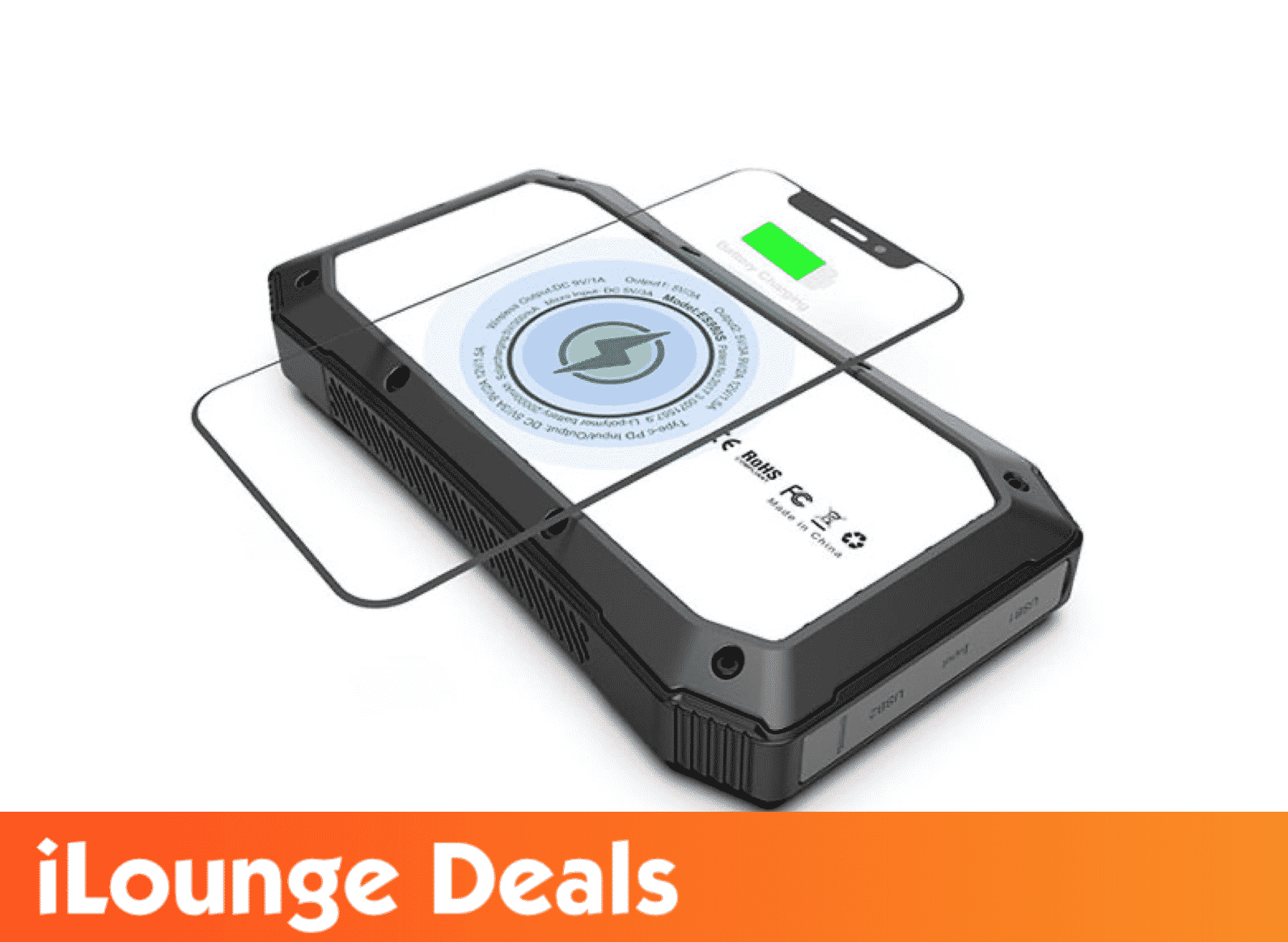 Sun Chaser 20,000mAh Solar-Powered Wireless Phone Charger is now 53% Off
