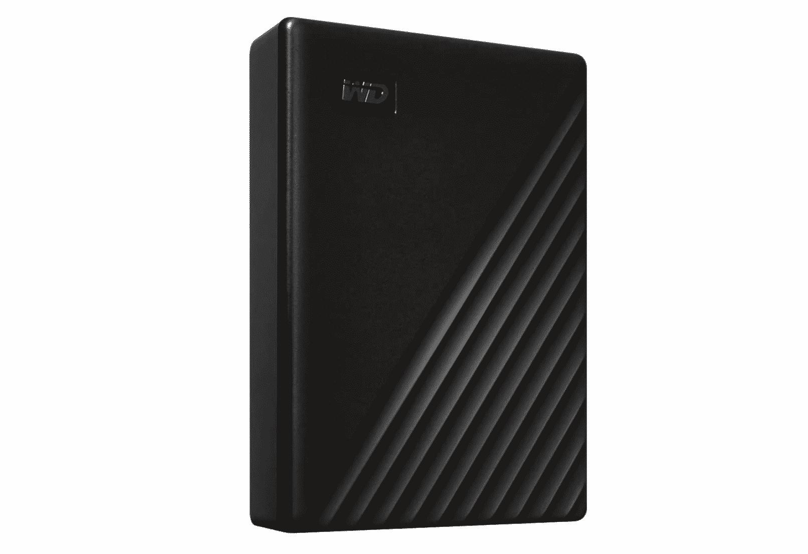 WD 5TB My Passport Portable External Hard Drive, Black