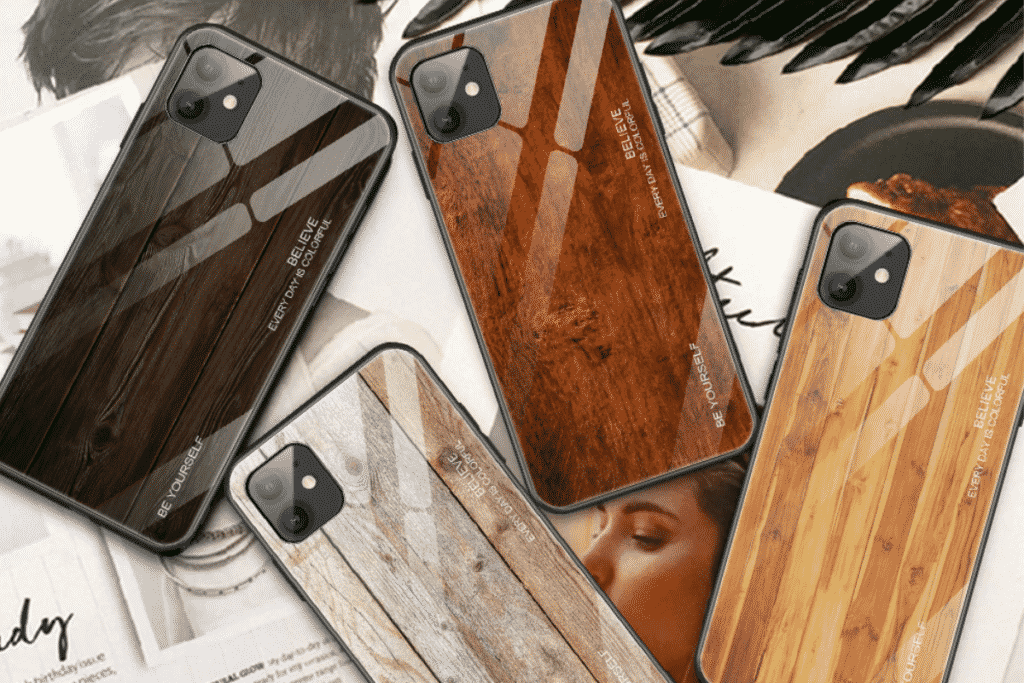 Wooden Case for iPhone 12