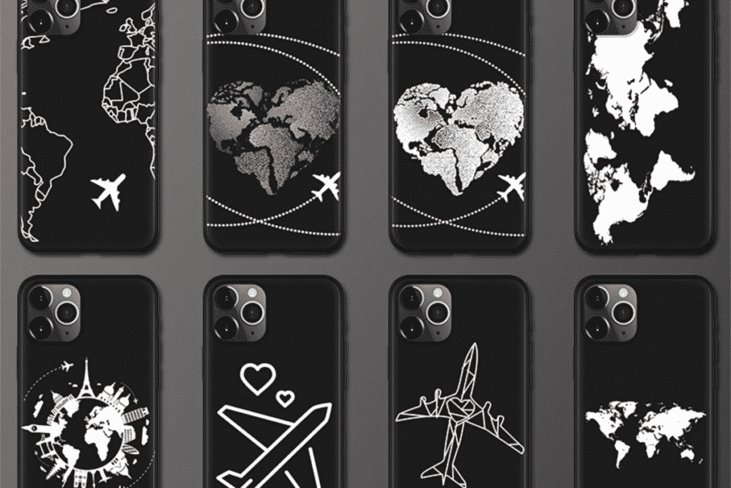 World Map Case for iPhone 12 and iPhone 12 Pro Max