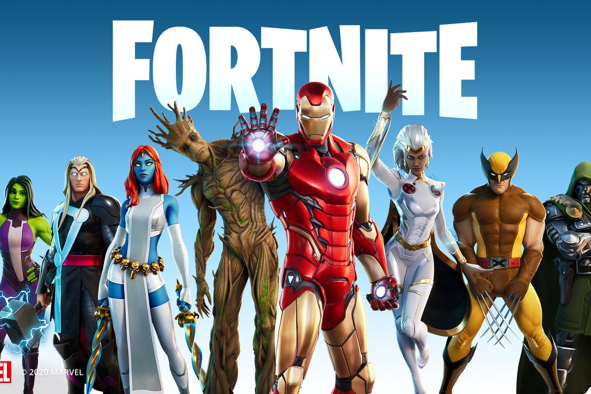 Marvel themed Fortnite not available on iPhone, iPad, Mac