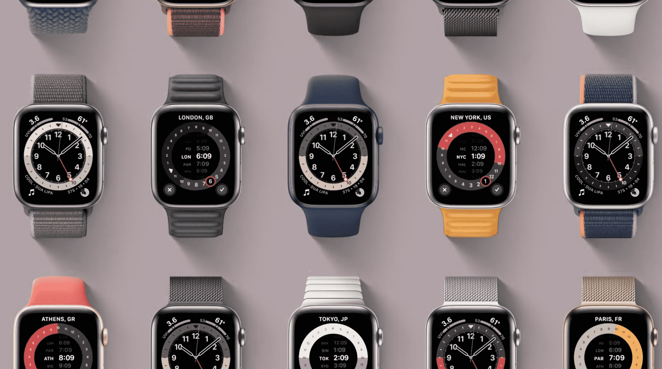 7 Apple Watch Faces
