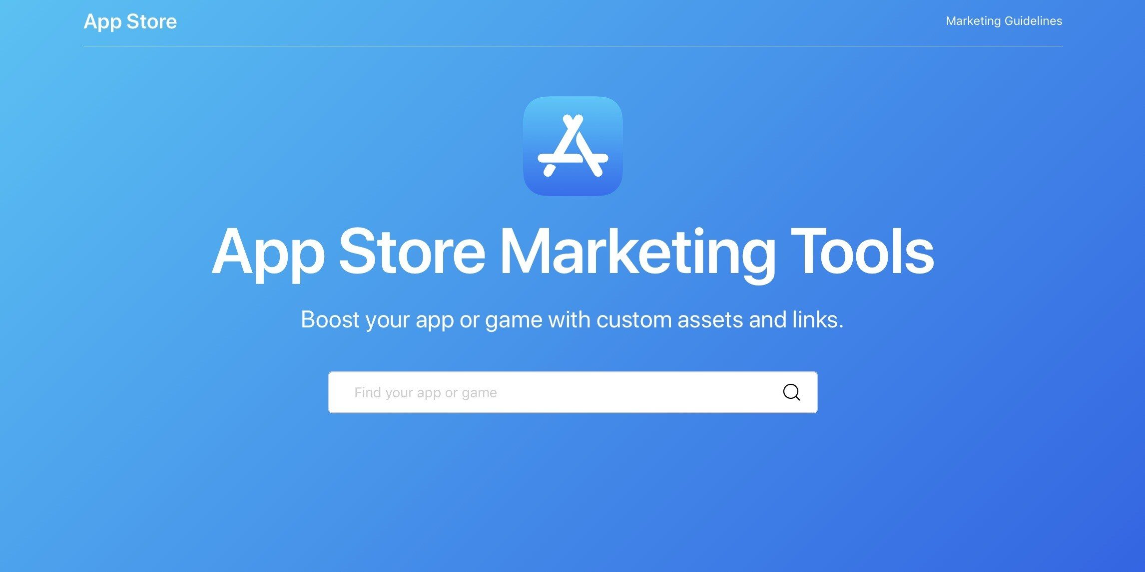 App Store Marketing Tools