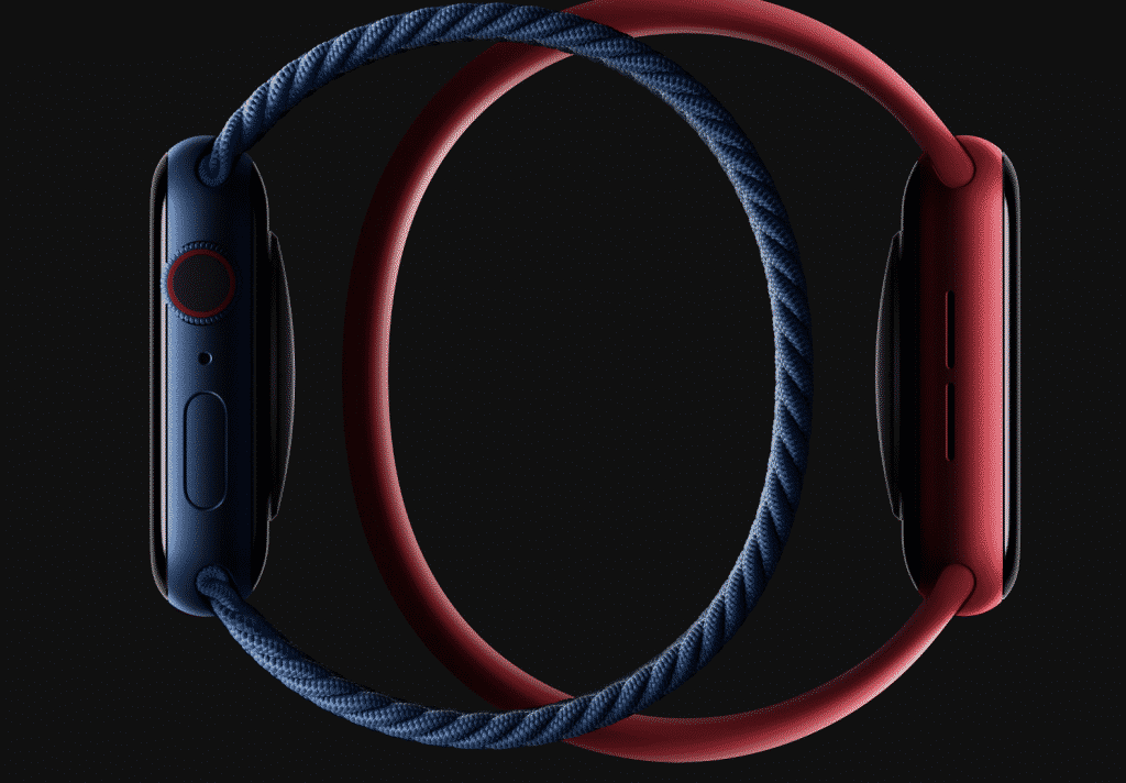 Apple Watch Series 6 in Solo Loop Bands