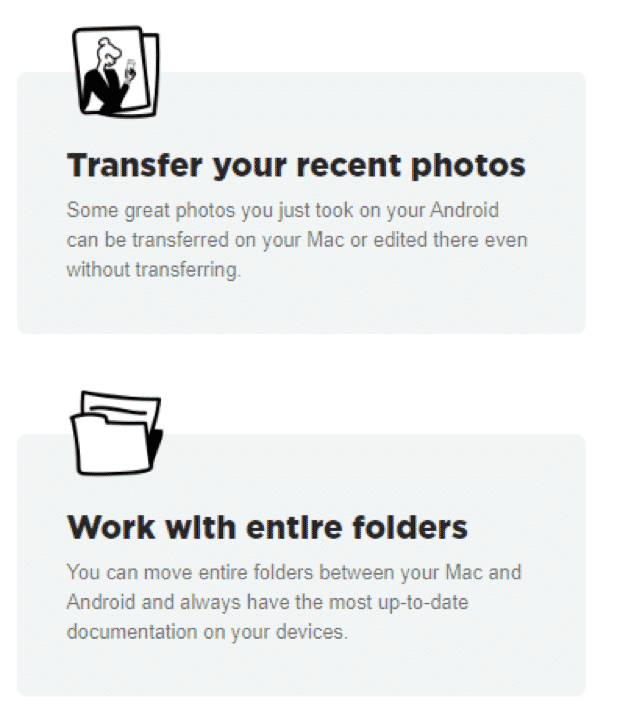 MacDroid : File Transfer App For Mac And Android